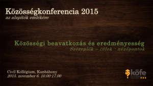 Közösségkonferencia 2015-1